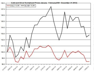 Gold & silver outlook 2013  February 13